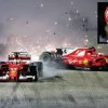 Formula One plays blame game after Vettel crashed out at Singapore Grand Prix