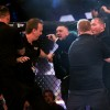 Bellator 187 & BAMMA 32, 3 Arena, Dublin 10/11/2017 John Redmond vs Charlie Ward Conor McGregor is involved in a scuffle after the fight with referee Marc Goddard Mandatory Credit ©INPHO/Gary Carr