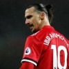 Zlatan Ibrahimovic shakes Manchester United staff on his first day at club