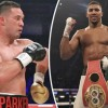Anthony Joshua will face Joseph Parker in March