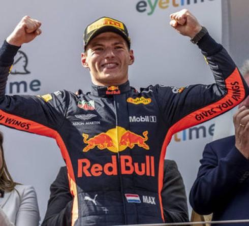 Verstappen stood victorious at Austrian Grand Prix