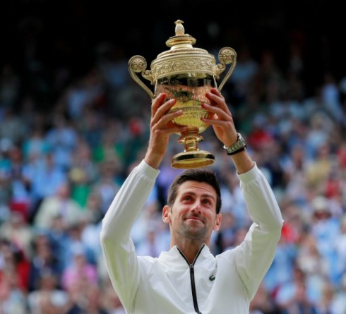 2019 Wimbledon Final, Record of Roger Federer vs. Novak Djokovic