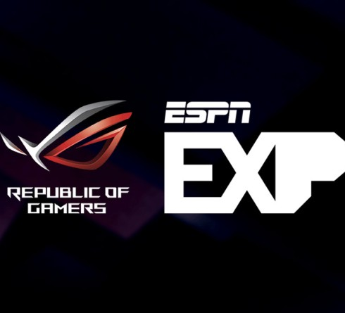 ASUS Republic of Gamers Become a Sponsor of the ESPN EXP Esports Tournament Series