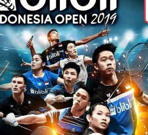 Results of the Indonesia Open 2019 Big 16, 8 Indonesian Representatives were eliminated