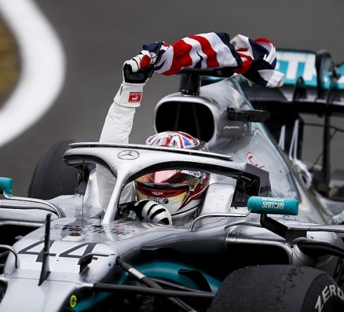 F1 results for British GP, Lewis Hamilton past the French legend record