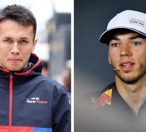 Albon to replace Gasly at Red Bull