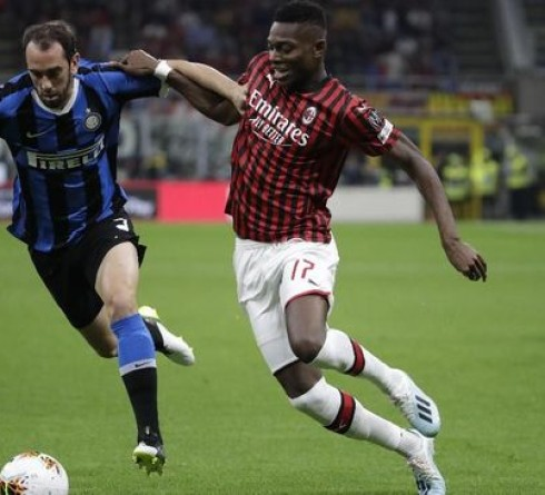 Italian league results: Inter beat AC Milan 2-0