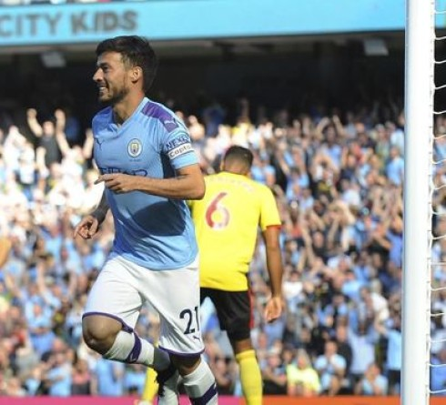 Premier League Results: Man City Wins 8-0 over Watford
