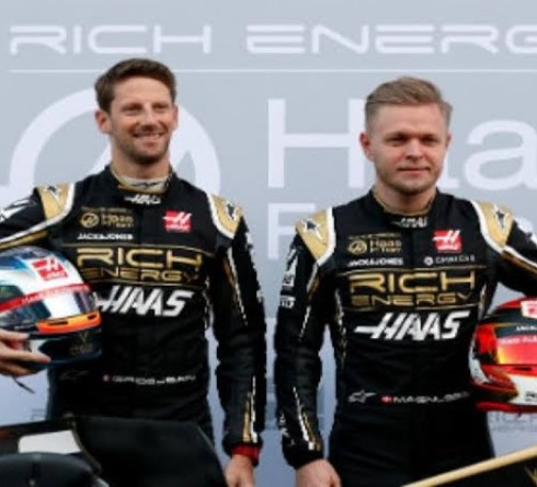 F1: Grosjean And Magnussen Extend Contracts With Haas Till 2020