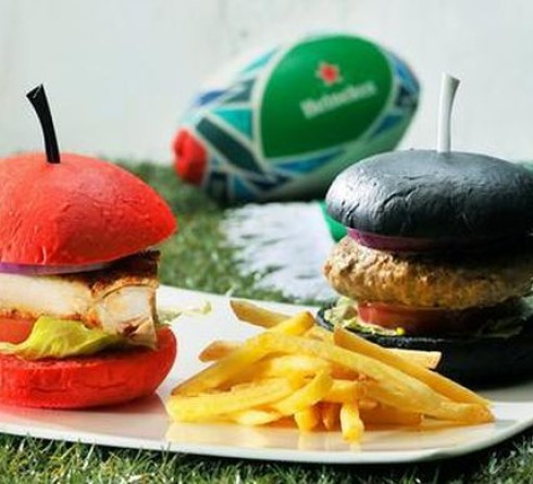 Black Burger to Rugby Ramen, Enliven the Rugby World Cup in Japan
