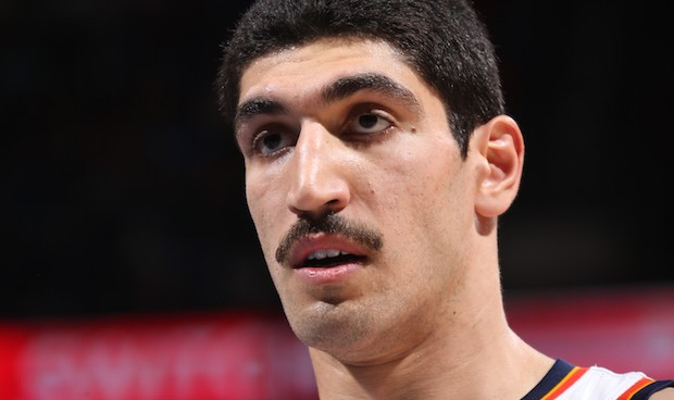 OKLAHOMA CITY, OK - NOVEMBER 25: Enes Kanter #11 of the Oklahoma City Thunder during the game against the Brooklyn Nets on November 25, 2015 at Chesapeake Energy Arena in Oklahoma City, Oklahoma. NOTE TO USER: User expressly acknowledges and agrees that, by downloading and or using this Photograph, user is consenting to the terms and conditions of the Getty Images License Agreement. Mandatory Copyright Notice: Copyright 2015 NBAE (Photo by Layne Murdoch Jr./NBAE via Getty Images)