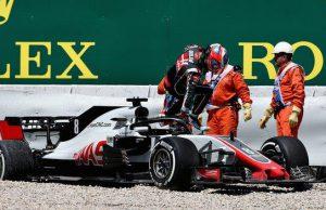 Haas Romain grosjean