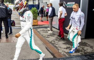 Hamilton Bottas Mercedes Austria GP