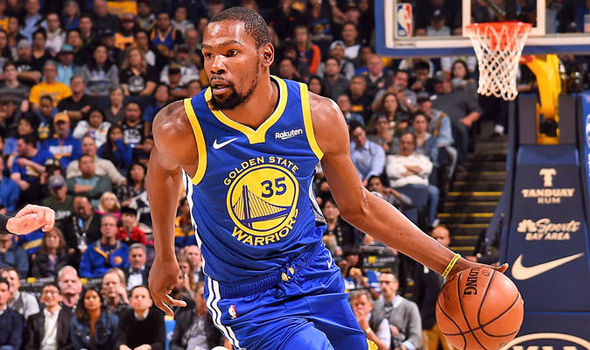 17974e6bd6b3 TORONTO — Golden State Warriors star Kevin Durant scored 51 points in  Thursday s 131-128 overtime loss to the Toronto Raptors