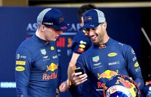 Ricciardo at Red Bull
