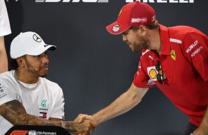 Vettel defended by Hamilton