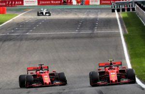 Vettel Leclerc Team Order Belgian GP