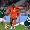 Romelu Lukaku mencetak gol untuk Belgia vs Meksiko dengan sentuhan pertama yang buruk