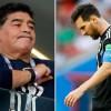 Diego Maradona Ejek Lionel Messi