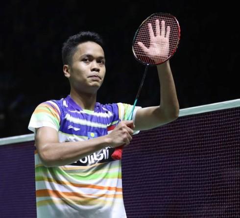 Ginting Berhasil Mengalahkan Lu Guangzu di Indonesia Open 2019