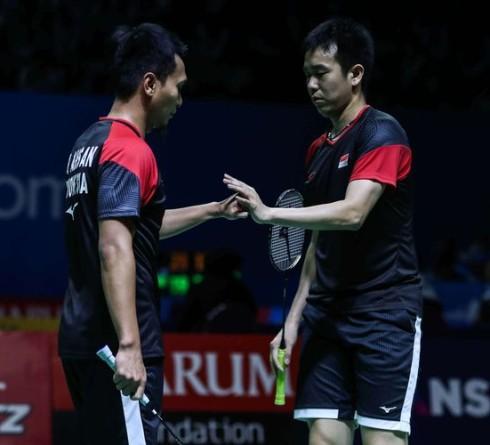 Ahsan/Hendra Memastikan Langkah Ke Semifinal Indonesia Open 2019