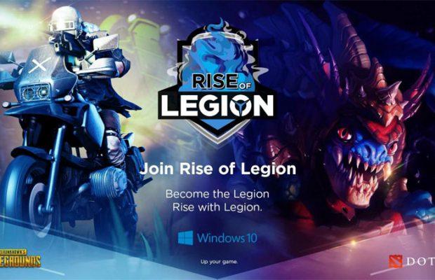 Pertandingkan Dota 2 dan PUBG PC, Lenovo Hadirkan Rise of Legion! -