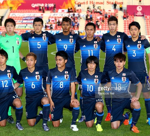 xxxx during the AFC U-23 Championship Group B match between Japan and North Korea at Grand Hamad Stadium on January 13, 2016 in Doha, Qatar.