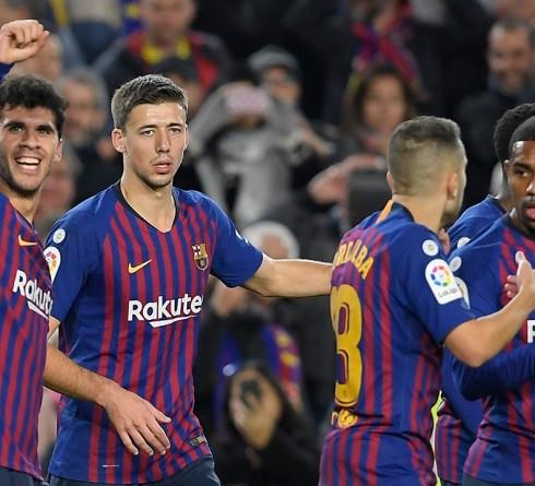 ฟุตบอลลา ลีกา สเปน แอธ.บิลเบา-vs-บาร์เซโลน่า  เวลา: 02.00น. สนาม : ซาน มาเมส บาร์เรีย ราคาบอล : บาร์เซโลน่า ต่อ 0.5/1