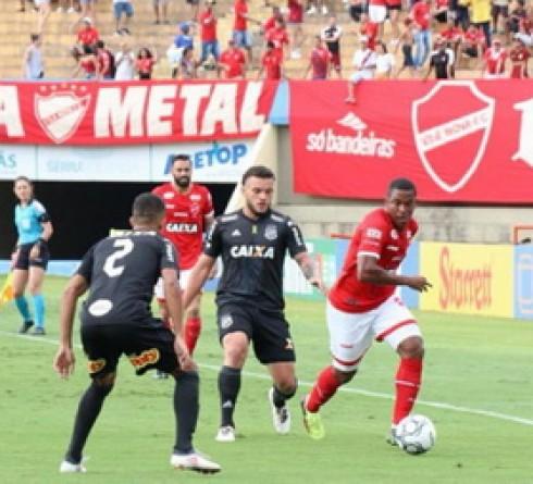 ฟุตบอล บราซิล ซีรี่บี  ปอนเต เปรตาvsวิลา โนว่า สนาม :Estádio Moisés Lucarelli (Campinas, São Paulo) เวลา :07.30น. ราคาบอล :ปอนเต เปรตาต่อ0.5 – 5